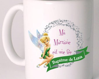MODEL on request custom fairy mug