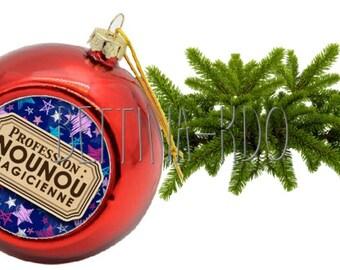 """BALL OF CHRISTMAS """"NANNY MAGICIAN"""""""