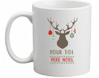 "CERAMIC MUG ""FOR YOU FATHER CHRISTMAS"""