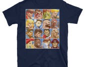 Super Street Fighter 2 Turbo Retro Arcade Unisex T-Shirt