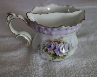 Limoges China Mustache Cup