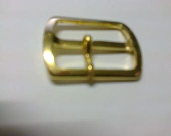 Rectangular buckle brass passage 2.3 cm * BO36 *.