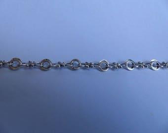 Elaborate antique silver chain