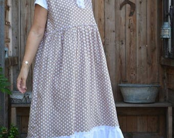 cotton dress with polka dots pattern Jacqueline