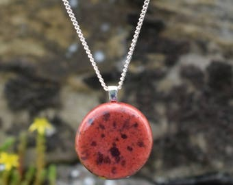 Red Ceramic Necklace