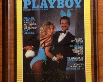 Burt Reynolds Playboy Authentic Signature Card 61 of 600