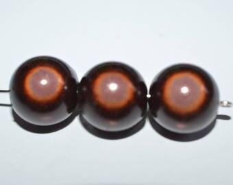Magic 8 mm Brown miracle bead