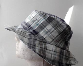 Scottish fabric fedora Hat