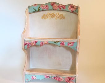 customized decorative wooden shelf, shelf rustic shelf redesigned vintage