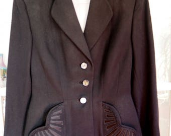 Original 50's jacket, made by a seamstress, in good condition for its age