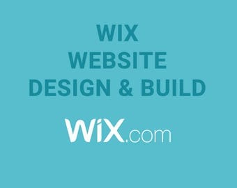 Wix website Design & Build