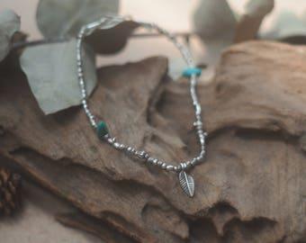 Ankle bracelet, Silver Ankle bracelet, handmade ankle bracelet,