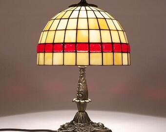 Tiffany Lamp 9'' Classical 22, Tiffany Desk Lamp, Tiffany Lamp, Desk Lamp, Lamp