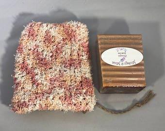 Handmade Soap Holder/Scrubbie