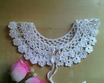lace crochet collar for girl