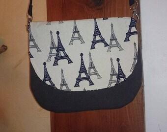 Lil Eiffel Tower paris shoulder bag
