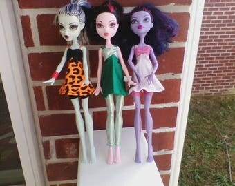Monster High Dress in 3 Colors
