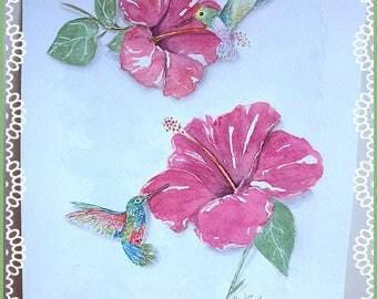 colibri decor | etsy