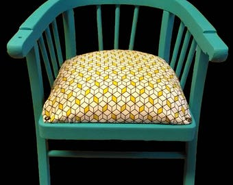 Child's wooden and fabric Chair
