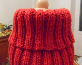 Snood Red 8-10 years