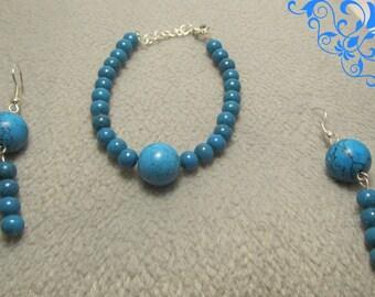 Creat ' Turquoise' set ' Y. O.N - original and feminine