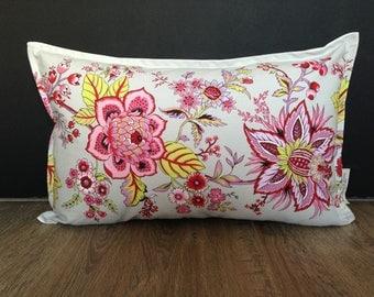 Cotton Flower print Cushion cover