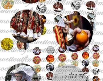 60 digital images of binche gilles, folklore, Carnival (e-mail)
