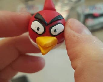 Angry Bird handmade with polymer clay