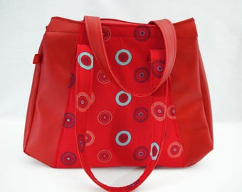 Purse is red