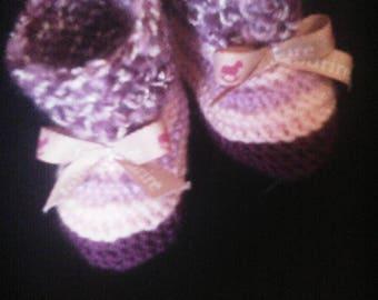 "Cute little Ballet shoe themed ""message""smile pretty Ribbon"