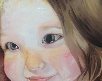 Custom Portrait, Oil Painting