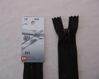 Black nylon zipper (460 Z51)