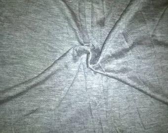 Cotton and elastane gray Heather
