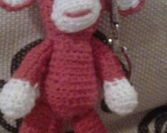 Monkey amigurumi crocheted sold