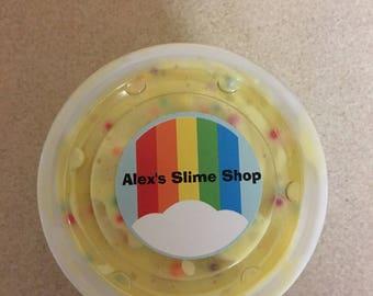 Confetti Cake Slime