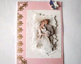 No. 12 wedding 3d greeting card