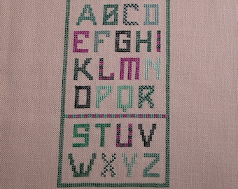 Primer green embroidery