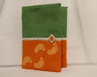 Lined custom health book