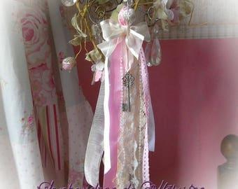 Shabby chic tassel door decoration