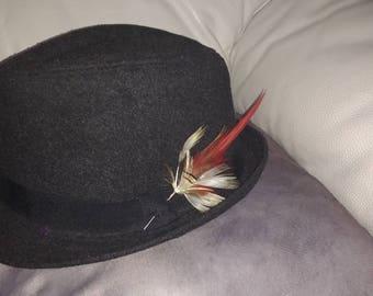 Plume or mens Hat pin