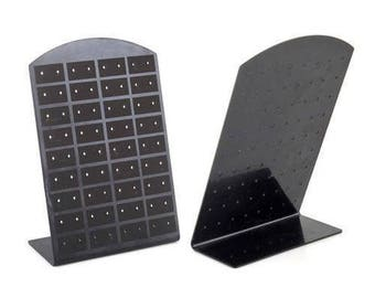 1 jewelry stand earring 36 pair black display