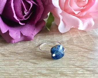 Stone and 925 sterling silver ring