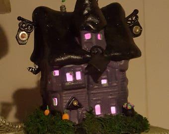 Halloween town house