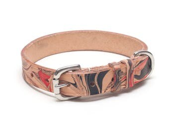 Bloody Mary Leather dog collar