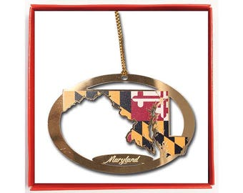 State of Maryland Ornament