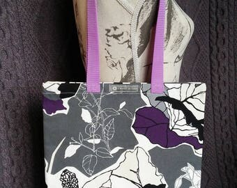 "Tote bag or Tote pattern ""graphic flowers"""