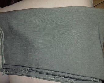 Green fiber fabric coupon mixed wrinkle