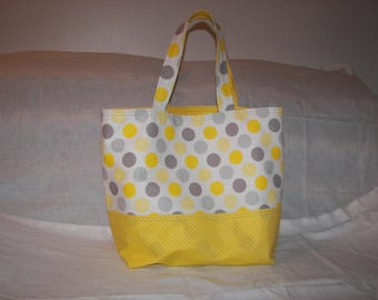 grocery tote bag yellow