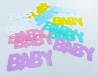 14 table decorations BABY birth baby shower party table decoration baby 11 cm 4,3 inches