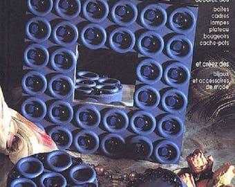 BOOK / 45 MODELS ORIGINAL WITH WOODEN, PLASTIC OR STYROFOAM RINGS